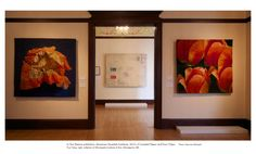Recent Exhibitions | Portfolio | Helena Hernmarck In Our Nature, American Swedish Institute, 2012--Crumpled Paper and Four Tulips, Minneapolis, MN