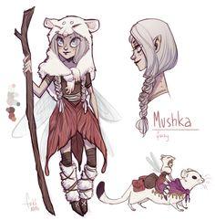 one day auction - Mushka - OPEN by Fukari.deviantart.com on @deviantART