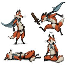 Storybook+Fox+(Character+Design)+by+Temiree.deviantart.com+on+@DeviantArt
