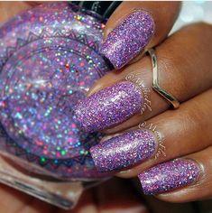 Sparkle Nails, Glitter Nails, Fun Nails, Pretty Nails, Glitter Bomb, Prom Nails, Wedding Nails, Fabulous Nails, Cool Nail Designs