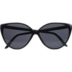 Navy cat eye sunglasses