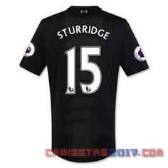 Camiseta STURRIDGE Liverpool 2016 2017 segunda