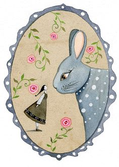 Alice by LilyMoon on Etsy,