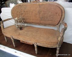 la Brocanteuse: Deconstructed French chairs