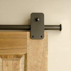 Bronze Plato Single Rolling Door Kit