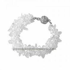 pulsera de cristal moda diseno nuevo para mujer -ACBTG78106