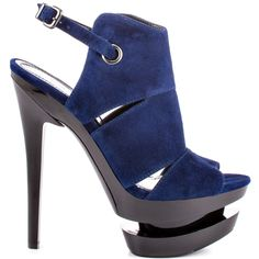 Heels I Love #heels #summer #high_heels #color #love #shoes Cat - Sapphire Suede  					Jessica Simpson