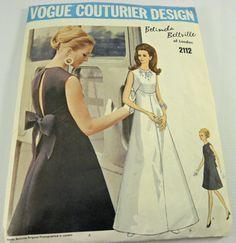Vintage Vogue Couturier sewing Pattern Design 2112 by vtgcharleys1, $25.00