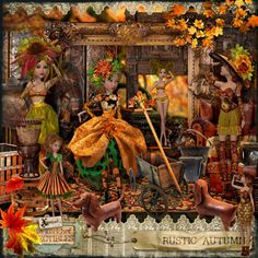 Rustic Autumn Collectibles