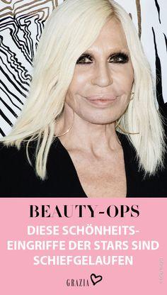 Schönheitsoperationen gehören in Hollywood einfach dazu. Dass dabei einiges schieflaufen kann, beweisen wir euch nun mit einem Vorher-Nachher-Vergleich. #grazia #grazia_magazin #stars #op #beautyop