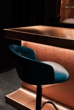 British designer Tom Dixon has completed his first hospitality project in America: a speakeasy in Atlanta, Georgia, featuring a copper bar and pendants that resemble molten metal (+ slideshow).