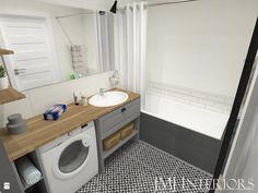 5-metrowa łazienka w stylu skandynawskim - zdjęcie od JMJ Interiors - Łazienka - Styl Skandynawski - JMJ Interiors