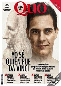 Quo España - Junio 2017 - Yo se quién fue Da Vinci, Christian Gálvez, la mayor investigación