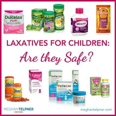 Laxatives for Children: Are They Safe or Just A Quick Fix?
