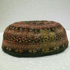 d3d6ccb83b9 More than a 100 y old Turkoman hat daily use or to collect fine embroidery  n  28