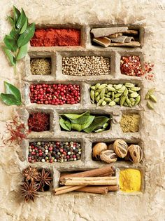 Herbs:  #Herbs and #spices.