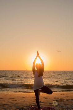 Morning sunrise shoot .. maternity prenatal yoga photoshoot NJ