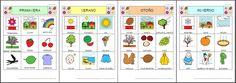 Informática para Educación Especial: Nuevos materiales sobre las Estaciones del año con pictogramas de ARASAAC.