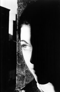 Photography | Denver Art Museum | Ralph Gibson. American (born 1939). Woman's Face with Shadow. 1974, Gelatin silver print. 1982.350.5. Gift of Lilian A. Ostermann