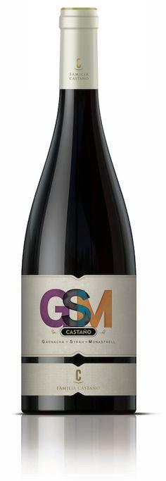Bodegas Castano - Castano GSM - Grenache, Syrah, Mourvèdre - Murcia, Spanje - DO Yecla - Vinthousiast, Rupelmonde (Kruibeke) - www. Murcia, Bottle, Wine, Flask, Jars