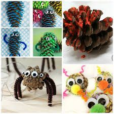 Image result for pinecone critters