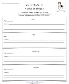 picture about Shiloh Worksheets Printable referred to as 10 Least difficult SHILOH gadget examine photographs in just 2014 Shiloh ebook