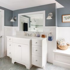 Lewis and Weldon Kitchens is Cape Cod's premier custom kitchen and bath designer. Offering endless design possibilities throughout your home. Kitchen Post, Kitchen And Bath, Custom Kitchens, Transitional Kitchen, Custom Cabinetry, Bath Design, Beautiful Bathrooms, Double Vanity, Master Bath