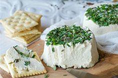 Roasted Garlic and Fresh Herb Cream Cheez (a.k.a. Vegan Boursin) [Gluten-Free] | One Green Planet