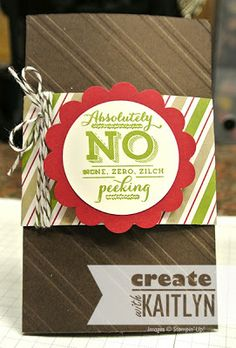 Create with Kaitlyn | Envelope Liner Gift Card Holder, Season of Style, Christmas Tagables