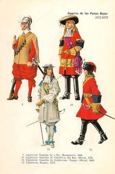 MINIATURAS MILITARES POR ALFONS CÀNOVAS: UNIFORMES MILITARES en color de todo el MUNDO de 1506 a 1965. ( POR PREBEN KANNIK )