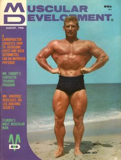 Muscular Development August, 1966 - EphemeraForever.com