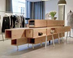 Wood Modular Furniture   simple answer?