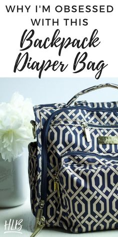 My review of the JuJuBe BFF Diaper Bag, a backpack diaper bag with tons of useful features for mama and baby. | Backpack diaper bags | best diaper bag | stylish diaper bag | cool diaper bag | Baby Registry Must Haves