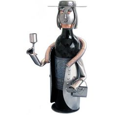 Sophisticated Lady Wine Bottle Holder  Original Price: $92.40 Special Price: $82.24 #art #sculpture #gift #wine #bottle holder