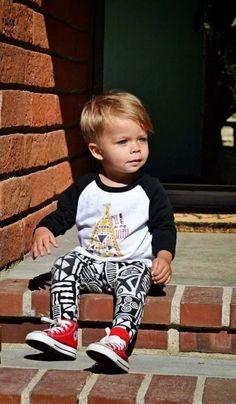 Esto comprueba que los leggings se hicieron sólo para los bebés