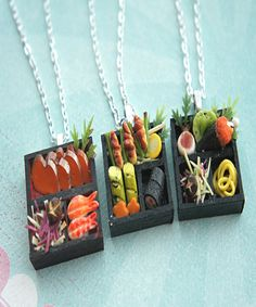 sushi plate necklace | Jillicious charms and accessories
