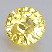 Radiant Cut Untreated Unheated Yellow Sapphire for Vedic Astrology (Jyotish) and Ayurveda 2.18 ct