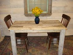 """Driftwood Table (50"""" x 28"""" x 29""""H) U Get One Pictured on Etsy, $489.00"""