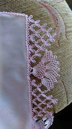 Very Popular White Cheesecloth Needle Lace - Knitting Crochet Borders, Crochet Motif, Crochet Lace, Crochet Stitches, Needle Tatting, Needle Lace, Bobbin Lace, Baby Knitting Patterns, Lace Knitting