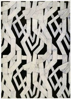 Josef Hoffmann: Sample design Source by ulrichtrappe Graphic Patterns, Print Patterns, Tribal Patterns, Textile Design, Textile Art, Fabric Design, Art Nouveau, Art Deco Design, Design Design