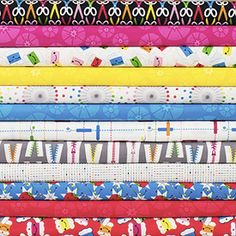 Sew Yummy fabric collection from Cloud9 Fabrics