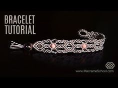 This is tutorial how to make Micro Macrame Embroidery Bracelet. Materials: -cotton cord (light rose ) 3 x 250 cm -cotton cord rose 5 x 200 cm…
