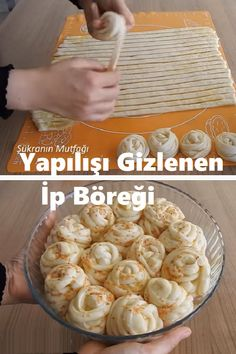 İlk Kez Gösterilen İp Böreği £hamurişi£hamurişi Pumpkin Pie Pull-apart is a 2 ingredient recipe using just pie dough and canned . - It's like an eclair had a fling with a giant donut, made even better with a delicious cream center. Crockpot Recipes, Cooking Recipes, Just Pies, 2 Ingredient Recipes, Bread Shaping, Sandwich Cake, Biscotti, Turkish Recipes, Dough Recipe