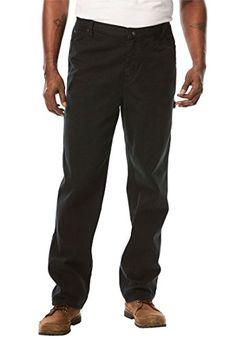 Boulder Creek by KingSizeBoulder Creek Men's Big & Tall Relaxed Carpenter Jeans Mens Big And Tall, Big & Tall, Boulder Creek, Tall Jeans, How To Hem Pants, Tall Guys, Denim Outfit, Black Denim, Carpenter