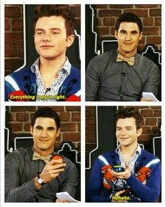 """Chris then says, """"You love me Darren. Everything I say is right."""""""