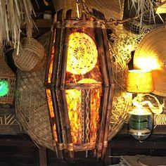 Tiki Lights, Bamboo Light, Entry Stairs, Tiki Decor, Tiki Lounge, Tiki Art, Aloha Hawaii, Tiki Room, Resort Style