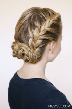 double-french-braid-buns