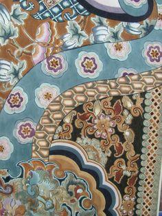 Bingata-dyed fabrics - Google Search