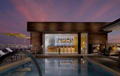 Risultati immagini per roof pool bar design