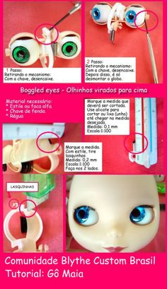 Blythe custom photo: Tutorial Boggled Eyes Blythe tutoboggledeyes.jpg